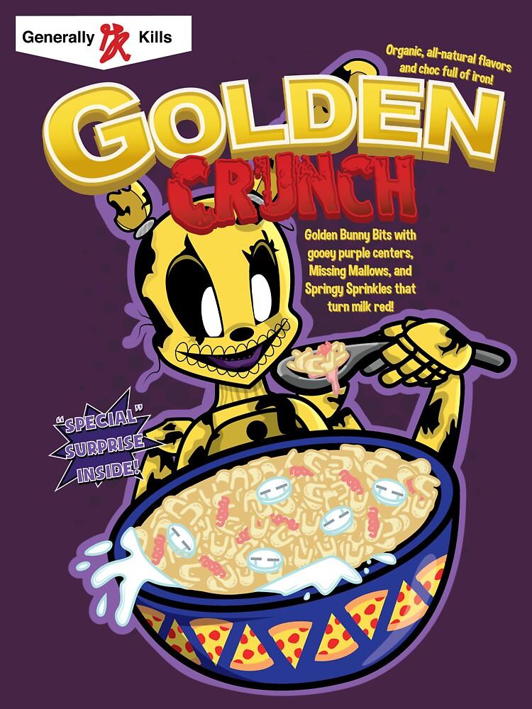 Taste That Golden Crunch! by I-Speak-Pixel