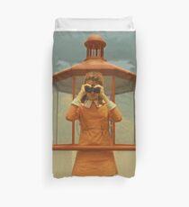 Moonrise Kingdom casttle  Duvet Cover