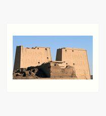 Edfu Temple 2 Art Print