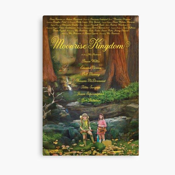 Moonrise Kingdom casttle movie,  Canvas Print