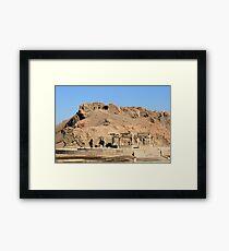 Edfu Temple 3 Framed Print