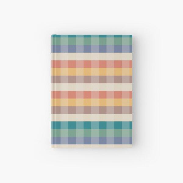Tartan Pattern Sunset Forest Color Hardcover Journal