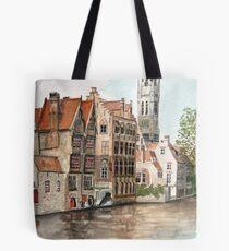 """Venice of the North"" - Bruges, Belgium Tote Bag"