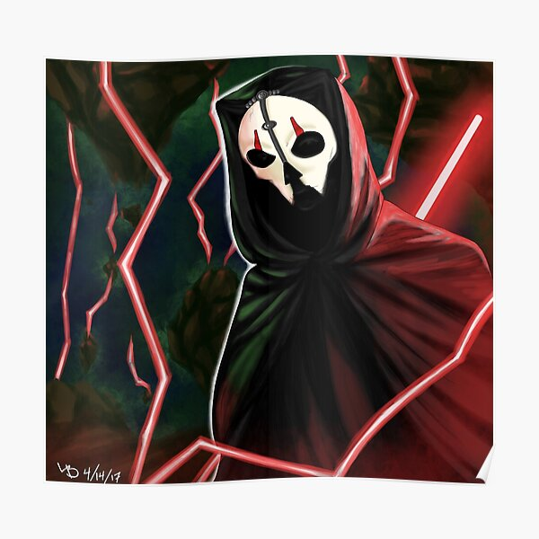 Darth Nihilus poster 18in x 30 USA SELLER FREE SHIPPING