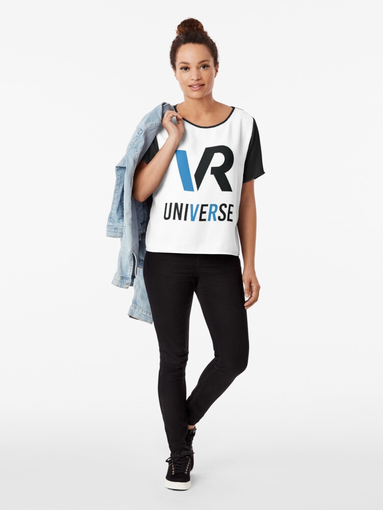 Alternate view of VRUniverse.com Chiffon Top