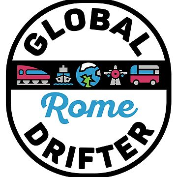 Rome Italy Global Drifter Travel by designkitsch