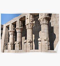 Columns at Edfu Temple 2 Poster