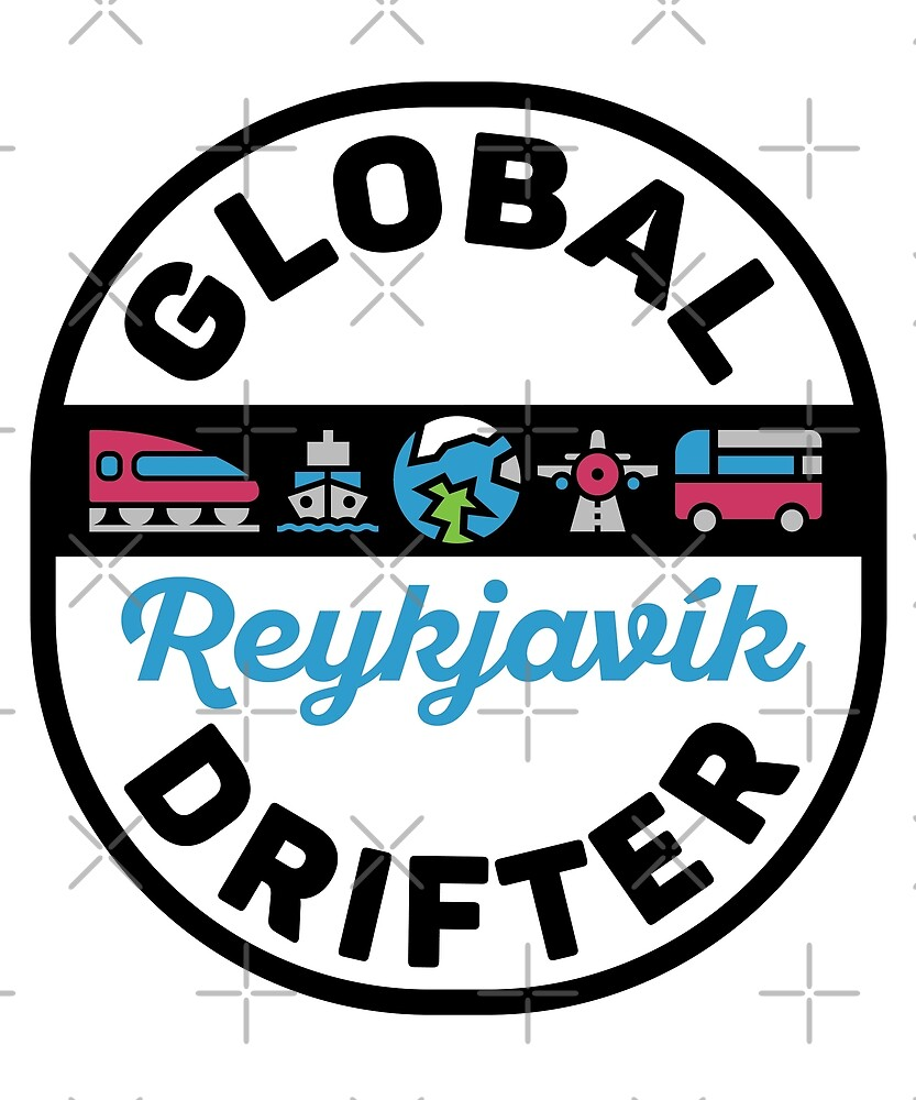 Reykjavik Iceland Global Drifter Travel by designkitsch