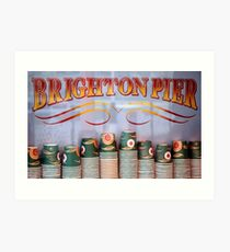Brighton sign Art Print