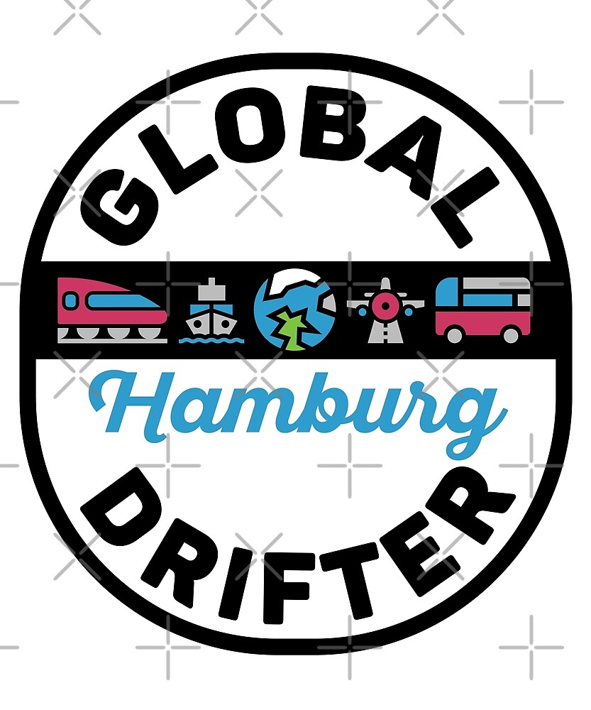 Hamburg Germany Global Drifter Travel by designkitsch
