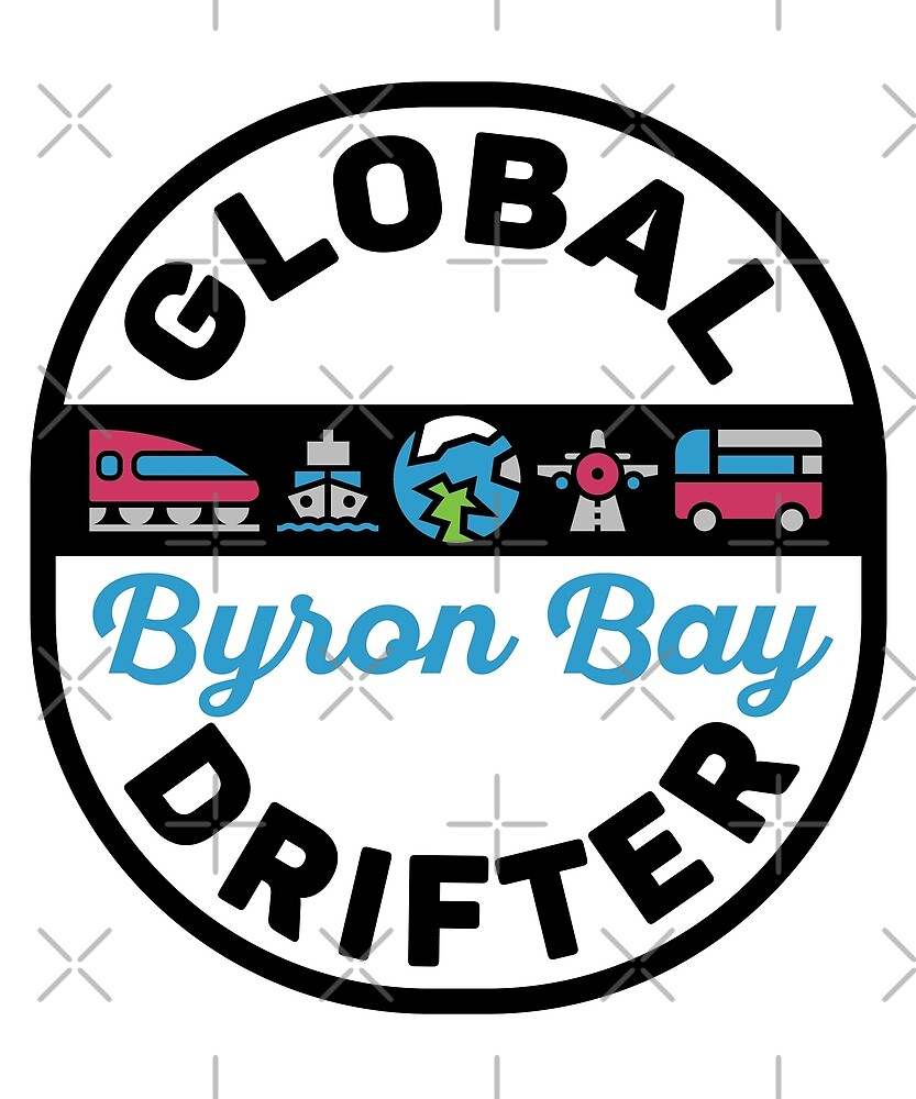 Byron Bay Australia Global Drifter Travel by designkitsch