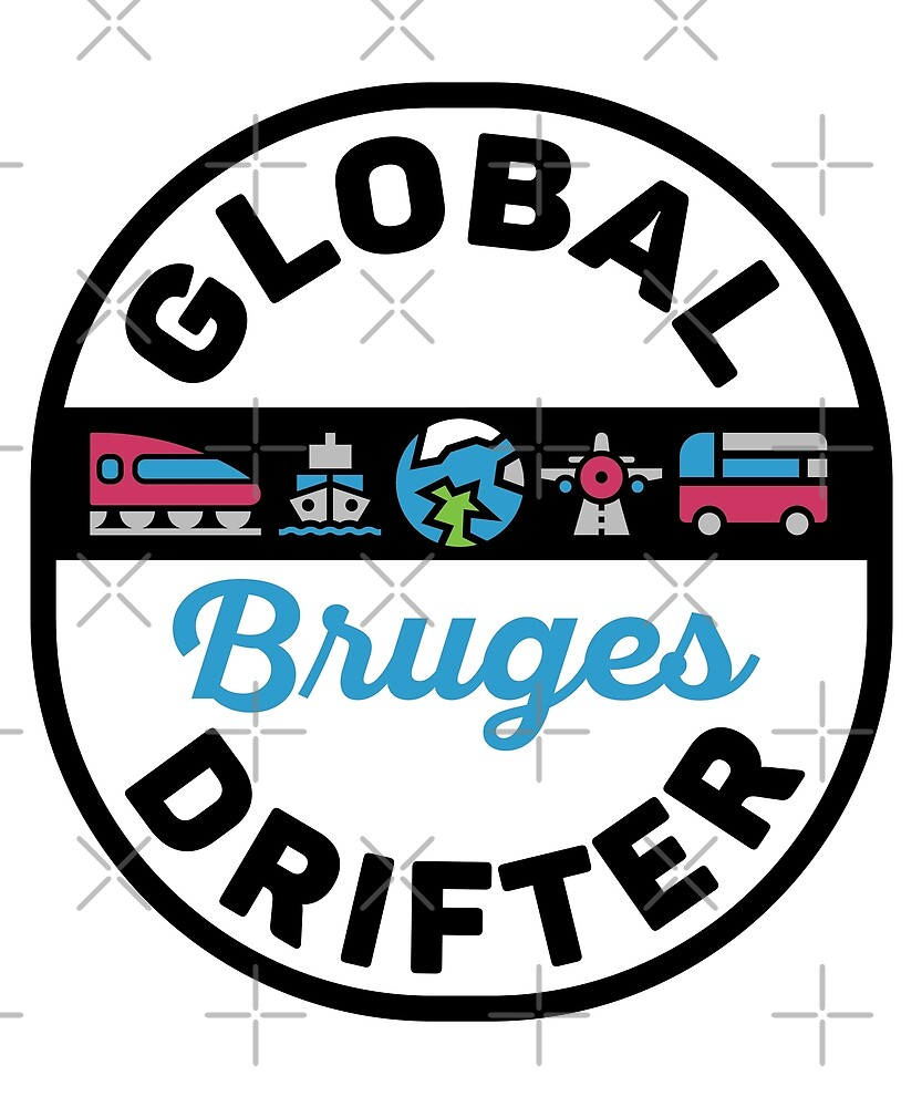 Bruges Belgium Global Drifter Travel by designkitsch