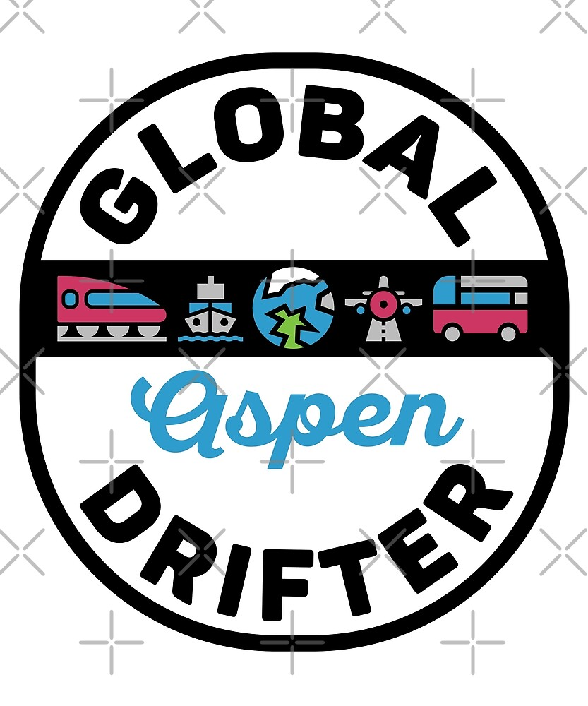 Aspen United States Global Drifter Travel by designkitsch