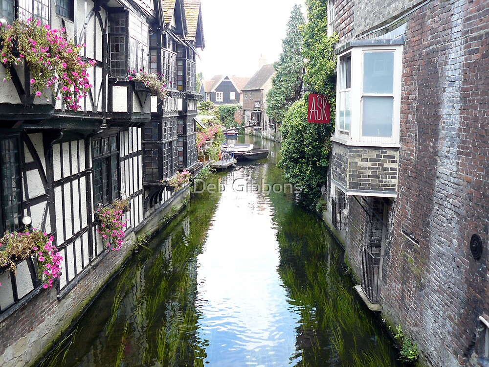 Canterbury Canal & dunking witches stories  by Deb Gibbons