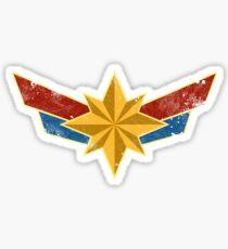 Superheldin (Alter) Sticker