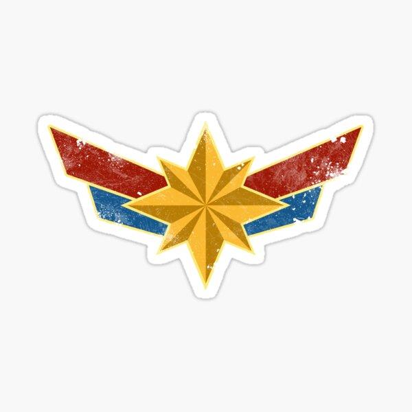 Super Heroine (Aged) Sticker