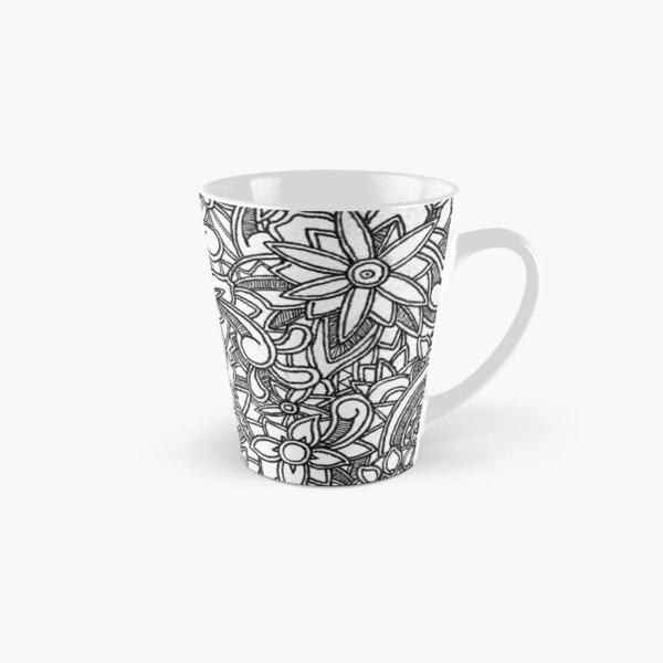 Zentangled Tall Mug
