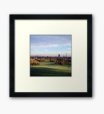 View over London from Primrose Hill Framed Print