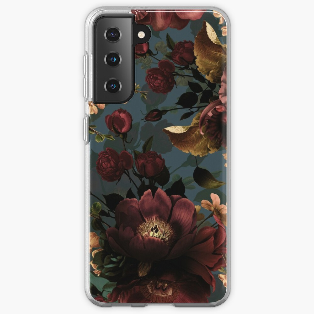 Moody florals - Mystic Night 10 Case & Skin for Samsung Galaxy