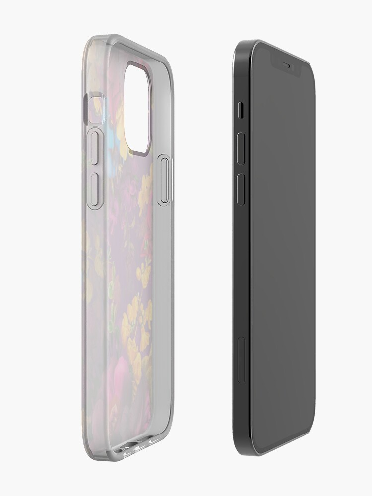 Alternate view of Moody florals - Mystic Night 12 iPhone Case & Cover