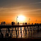 The Jetty, Glenelg, Adelaide by Stuart Robertson Reynolds