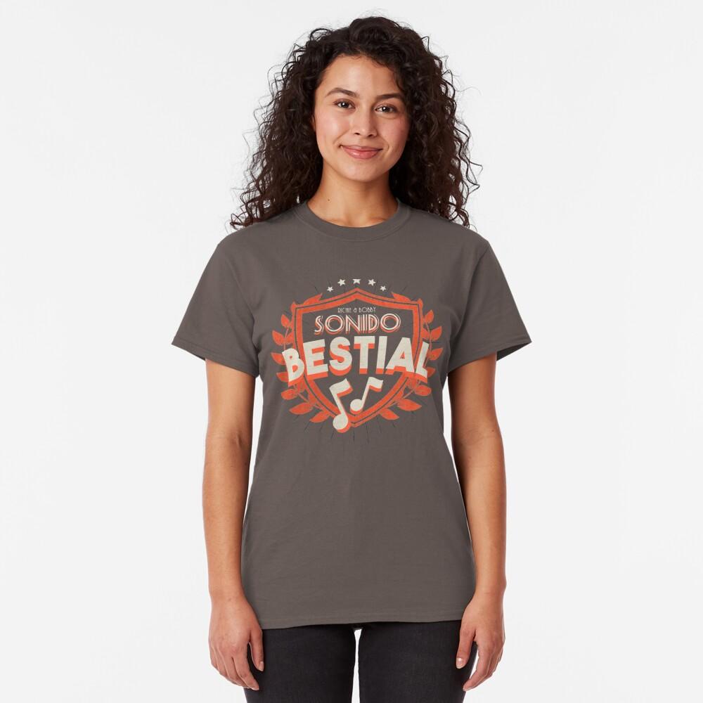 Sonido Bestial Camiseta clásica