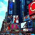 Times Square  by bywhacky