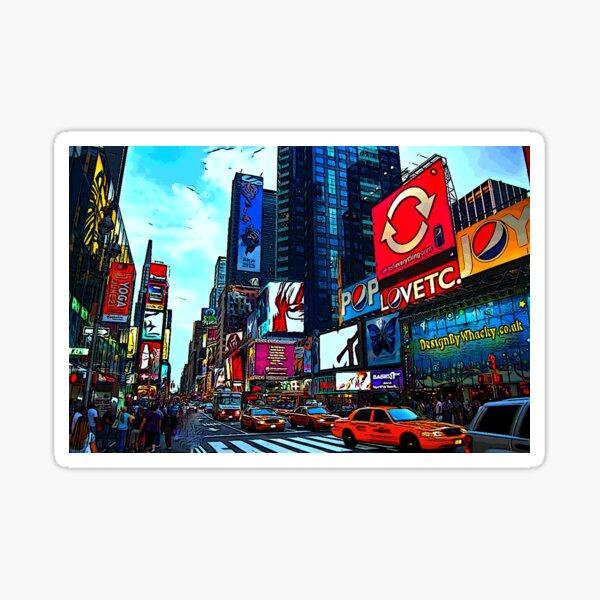 Times Square  Sticker