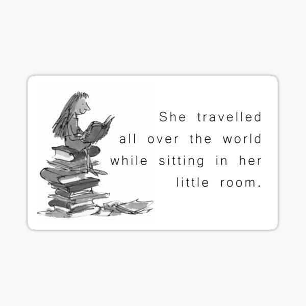 Matilda - She Travelled Sticker