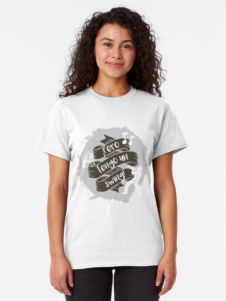 Vista alternativa de Camiseta clásica Pero tengo un swing!