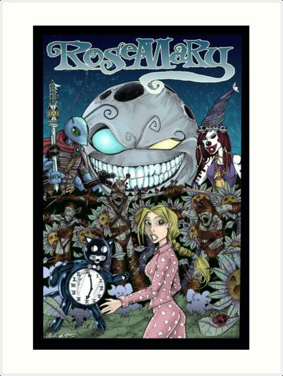 Rosemary #1 Cover by MarkMelton