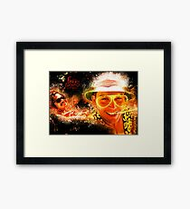 Fear and Loathing in Las Vegas - Alternative Movie Poster Framed Print