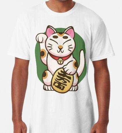 Lucky Kitty Long T-Shirt