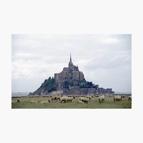 Mont St Michel Photographic Print