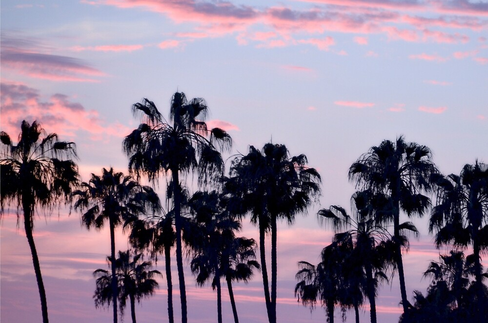 San Diego Cotton Candy Sunset CALIFORNIA by CaptureLight