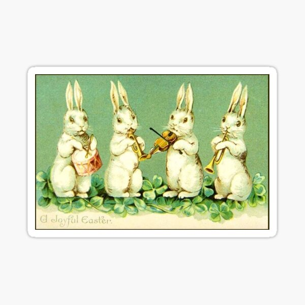 Rabbits Bunnies Kids Happy Easter Cool Bunny Flag Funny Bunny Flag Egg Hunt for Boys or Girls Cute Bunnies Flag Gift For Rabbit Lover