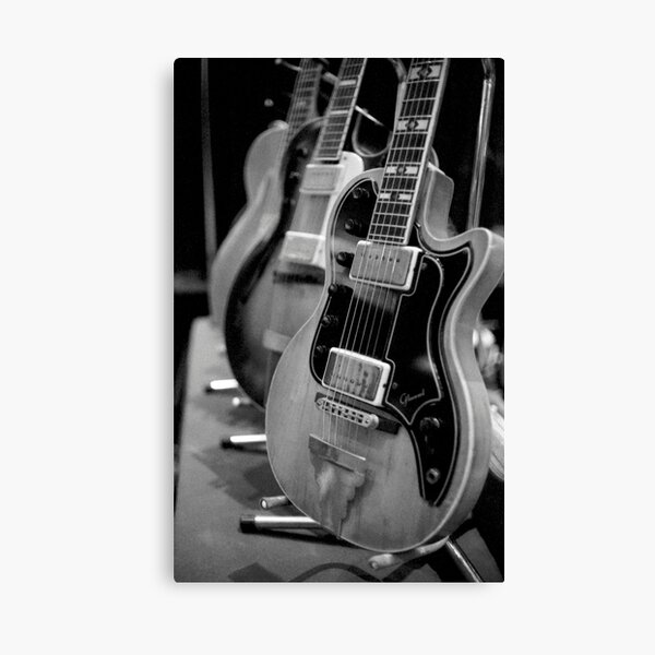 Glenwood Electric Guitar Canvas Print