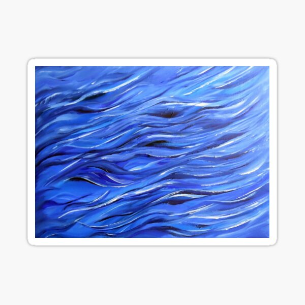 Sea 3 Sticker