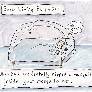 Mosquito Net Expat Living Fail (Myanmar) by kpalana