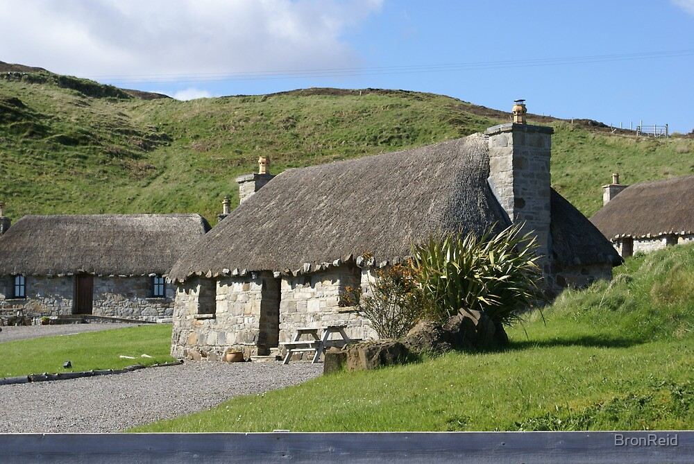 lovely thatch, Isle of Skye by BronReid