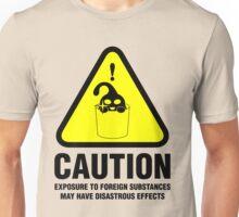 Suu Hazard Sign, Mischievous Version (English text, for light backgrounds) Unisex T-Shirt