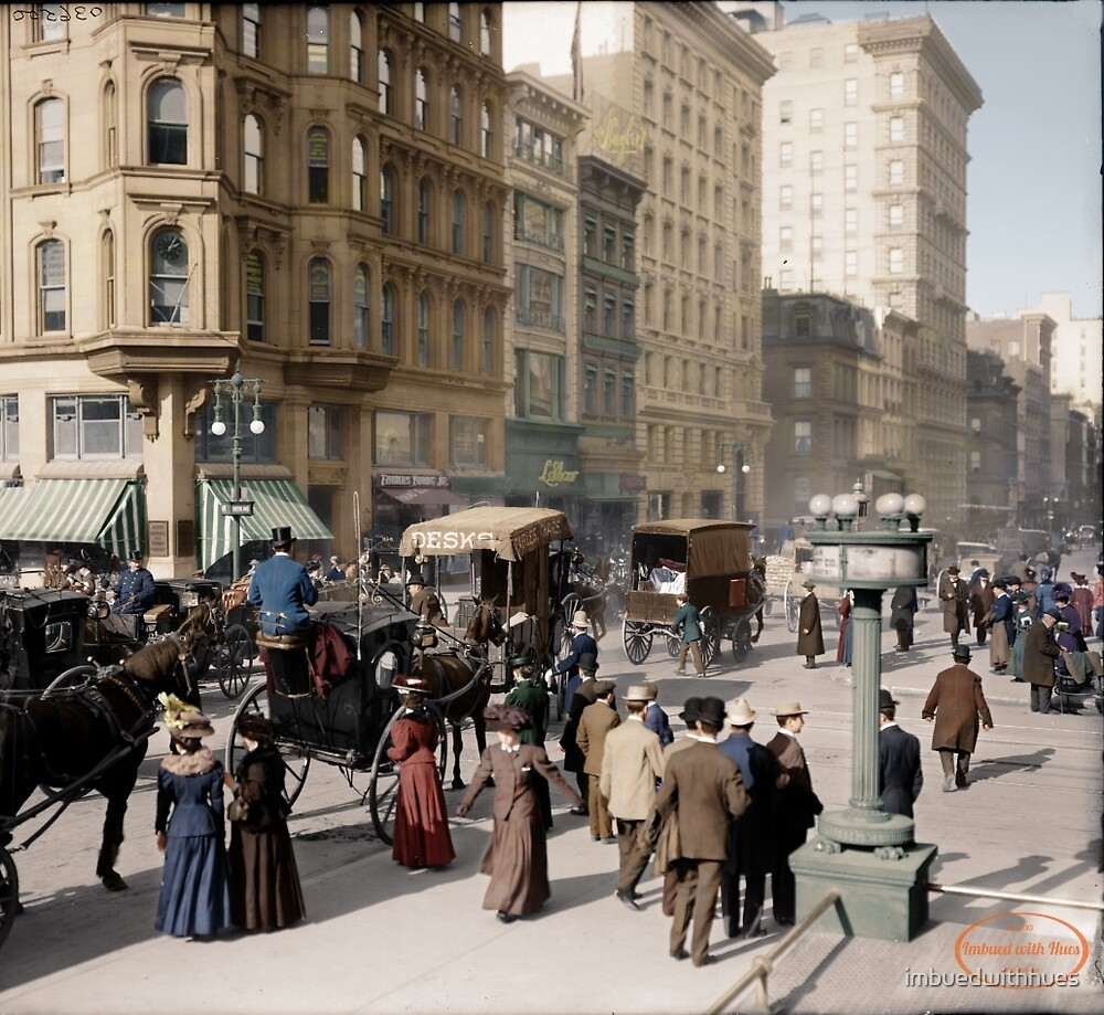 New York City - 1905 by imbuedwithhues