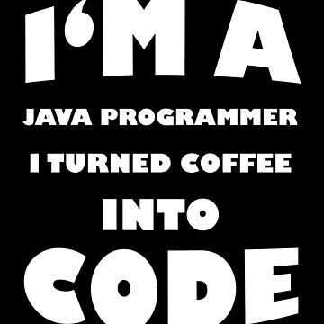 Java Programmierer Entwickler Informatik Geschenk von FluffigerSchuh