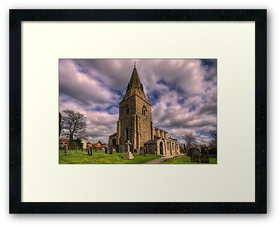 Misterton All Saints Church by Ray Clarke