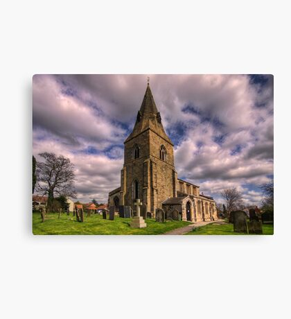 Misterton All Saints Church Canvas Print