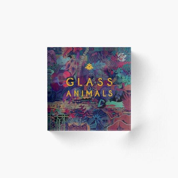 Glass Animals Acrylic Block