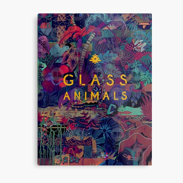 Glass Animals Metal Print