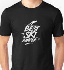 Ski jumping hill ski jumping Unisex T-Shirt