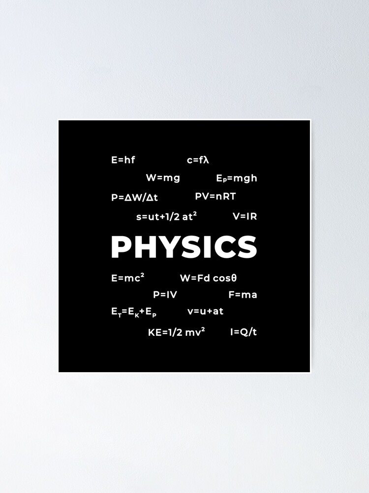 Alternate view of Physics Poster
