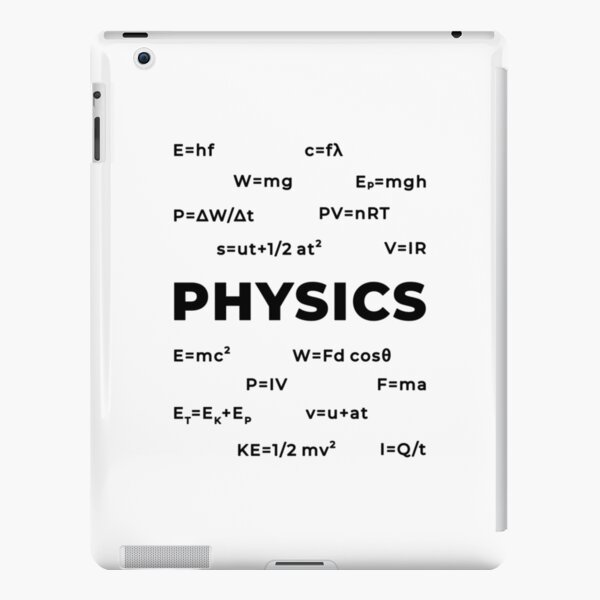 Physics (Inverted) iPad Snap Case